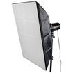 CowboyStudio - 24 x 36 inch Rectangular Photo Studio Video Softbox Soft Box for Monolight Strobe w/ Case - Black - Black