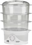 Kalorik - 3-Tier Food Steamer - Clear - Clear