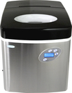 "NewAir - 17"" 50-Lb. Freestanding Icemaker - Stainless-Steel"