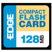 EDGE - 128 MB CompactFlash (CF) Card
