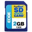 EDGE - 2GB ProShot Secure Digital Card 130X
