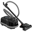 Sebo - Airbelt Premium Canister Vacuum Cleaner with ET-1 Powerhead and Bare Floor Brush - Black