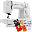 Janome - Electric Sewing Machine - White