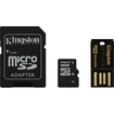 Kingston - 16GB microSD High Capacity (microSDHC) Card - Multi