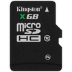 Kingston Technology - 8GB microSD High Capacity (microSDHC) Card