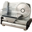 Continental Electric - Deli Meat Slicer with Stainless Steel Blade - 150 Watts - Silver