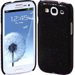 Cimo - Bling Sparkle Hard Cover Back Case for Samsung Galaxy S III - Black - Black
