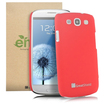 GreatShield - Guardian HQ Series Slim Fit Hard Case for Samsung Galaxy S III S3 - Red - Red