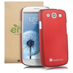 GreatShield - Guardian HQ Series Slim Fit Hard Case for Samsung Galaxy S III S3 - Metallic Red - Metallic Red