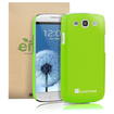GreatShield - Guardian UV Series Slim Fit Hard Case for Samsung Galaxy S III S3 - Green - Green