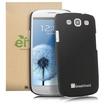 GreatShield - Guardian UV Series Slim Fit Hard Case for Samsung Galaxy S III S3 - Black - Black