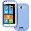 Empire - Soft Silicone Case Cover for Samsung Focus 2 I667 - Transparent Light Blue - Transparent Light Blue