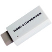 Image - Wii to HDMI Converter 720P 1080P + 3.5mm Audio Converter Adapter - White - White
