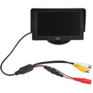 Image - 4.3 Inch TFT LCD Rearview Monitor w/ Baffle for Car/Automobile-Support 480 X 272 Resolution - Black