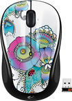 Logitech - M325 Wireless Optical Mouse - Lady on the Lily