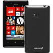 Fosmon - TPU Silicone Skin Case Cover for Nokia Lumia 720 - Black - Black Deal