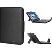 GreatShield - 2!Go Wireless Bluetooth keyboard Leather Case w/ sleep function for Samsung Galaxy Note 8.0 - Black