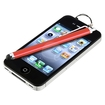eForCity - Touch Screen Stylus Compatible With Apple iPhone 4/4S/iPod/iPad - Red