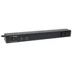 CyberPower - Rackbar Surge Suppressor RM 1U RKBS15S2F10R 15A 12-Outlet