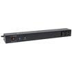 CyberPower - Rackbar Surge Suppressor RM 1U RKBS15S2F8R 15A 10-Outlet