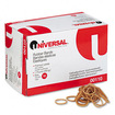Universal - Rubber Bands, Size 10, 1-1/4 x 1/16, 3400 Bands/1lb Pack - Beige