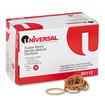 Universal - Rubber Bands, Size 12, 1-3/4 x 1/16, 2500 Bands/1lb Pack - Beige - Beige