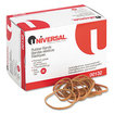 Universal - Rubber Bands, Size 32, 3 x 1/8, 820 Bands/1lb Pack - Beige - Beige