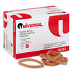 Universal - Rubber Bands, Size 64, 3-1.2 x 1/4, 320 Bands/1lb Pack - Beige