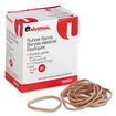Universal - Rubber Bands, Size 31, 2-1/2 x 1/8, 245 Bands/1/4lb Pack - Beige - Beige