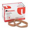 Universal - Rubber Bands, Size 105, 5 x 5/8, 55 Bands/1lb Pack - Beige - Beige