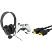 eForCity - Game Live Headset W/Microphone + 3Ft HDMI Cable M/M 1080P For Xbox 360