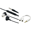 Insten - Earphone Mic & Splitter Bundle for Samsung Galaxy S3 S4 S3 Mini - Black