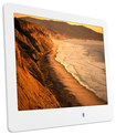 "ViewSonic - 8"" LCD Digital Photo Frame - White"