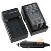 eForCity - BP808 Compact Battery Charger Set for Canon BP-819 FS100