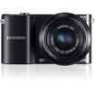 Samsung - 20.3 Megapixel Mirrorless Camera (Body with Lens Kit) - Black