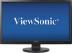 "ViewSonic - 23.6"" LED HD Monitor - Black"
