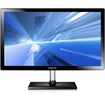 """Samsung - Simple LED 23.6"""" HDTV Monitor with Crystal Neck Finish - Charcoal Gray"""