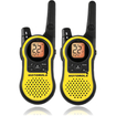 Motorola - MH230R 35-Mile Waterproof 2-Way Radio 6-Pack!! - Black, Yellow - Black, Yellow