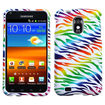 BasAcc - Rubber Hard Case Cover for Samsung Epic 4G Touch D710 Color Zebra