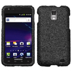 BasAcc - Bling Diamond Rhinestone Case Cover for Samsung Galaxy® S2 Skyrocket i727 - Black - Black