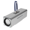BasAcc - Speaker for PC iPod MP3 iPhone Cell - Silver - Silver