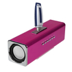 Insten - Speaker for PC iPod MP3 iPhone Cell - Hot Pink