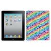 Insten - Colorful Zebra Back Case for iPad 2 iPad iPad 4