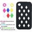 Insten - Module Skin Cover for iPhone 3GS/3G - Black