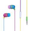 Insten - Rainbow Color Stereo Handsfree Headset Earphone for iPhone 5 5S 5C 4 4S 3G 3GS