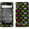 Insten - Cute Skulls Phone Case Cover for Motorola A955 Droid 2 R2D2 Droid - Skull