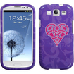 Insten - Celtic Heart Knot Hard Case for Samsung Galaxy S3 i9300 - Purple Celtic Pink Heart Knot