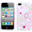 Insten - Floral Garden Phone Case Cover for iPhone 4S/4