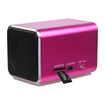 Insten - Speakers for PC/MP3 Player/Cell Phone - Hot Pink