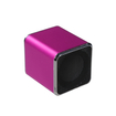 Insten - Mini Speakers for PC/MP3 Player/Cell Phone - Hot Pink